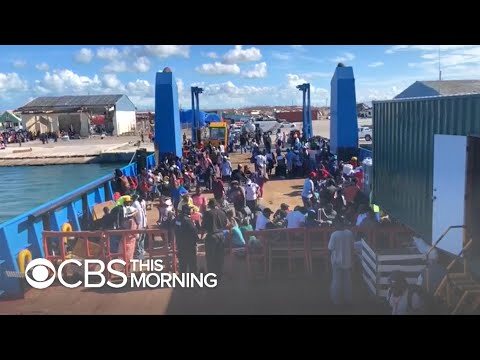 Thousands scramble to escape Bahamas after Hurricane Dorian