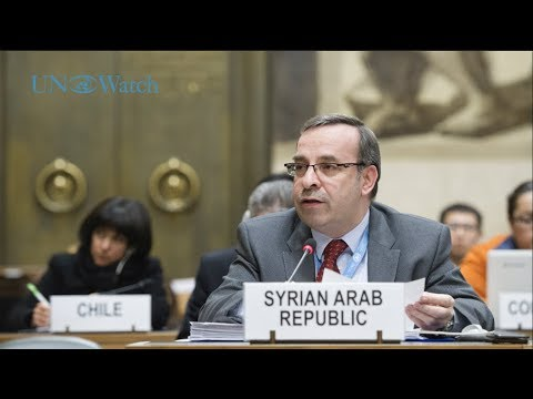 Syria hijacks UN disarmament meeting ahead of assuming its presidency; clashes with U.S., UK, France