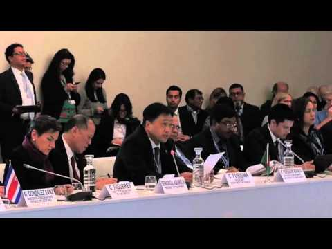 """H.E. Cesar V. Purisima """"What does the Climate Vulnerable Forum hope to achieve at COP 21?"""""""