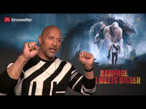 Interview Dwayne Johnson RAMPAGE
