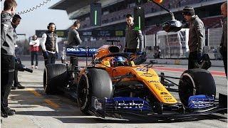 McLaren F1 team members treated after garage fire at Barcelona | CAR NEWS 2019