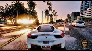 ► GTA 6 Graphics - Best Ferrari Cars MODs! ✪ M.V.G.A. - Gameplay! 2017 Realistic Graphics MOD 60FPS