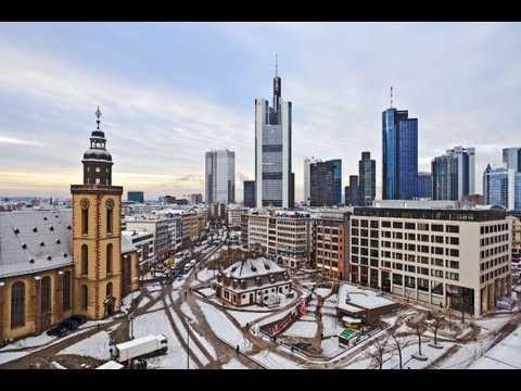 Frankfurt, Germany: Winter In The City-Only Sights & Sounds (1)
