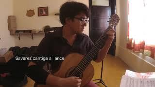 Comparación de cuerdas - Savarez cantiga alliance vs Sonatina Ultra - Eddie Lara