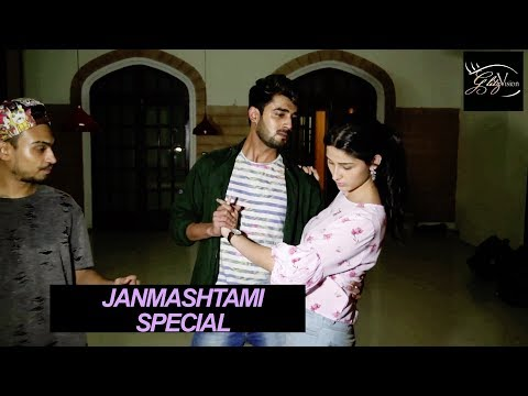 "Akshay Mhatre & Sheen Das's Rehearsals For ""Yeh Teri Galiyan""   Janmashtami Special   ZEE TV"