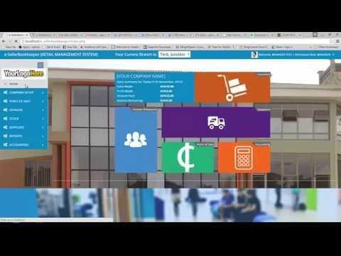 Video Demo of Our All-in-One Wholesale & Retail Management Software (e-SellerBookKeeper)