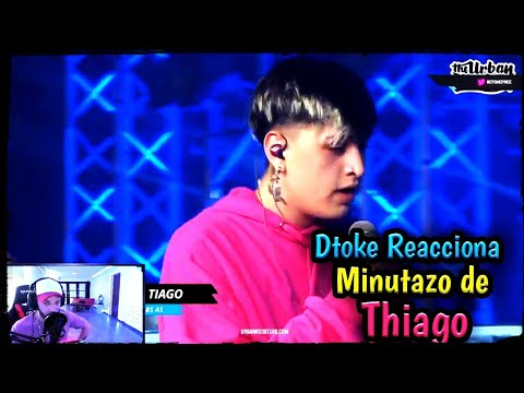Download Dtoke Reacciona a MINUTAZO de THIAGO vs ZAINA FMS Argentina_🔥Enloquecio🔥