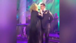 Алла Пугачева на свадьбе сына Гуцериева (26.03.2016 г.)