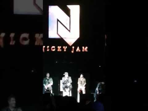 👑 Nicky Jam 👑 y Plan B,  Él Ganador Tour💪 San Jose CA, August, 11 2017