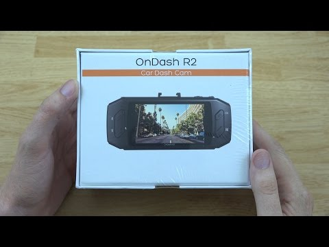 Vantrue OnDash R2 2K HD Dash Cam Unboxing And Review! (2304*1296P)