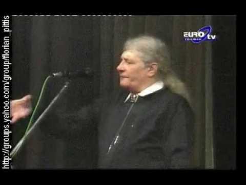 Florian Pittis recita Scrisoarea a III-a de M Eminescu