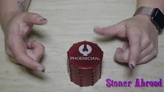 Phoenician Grinder Review by Char MySmokeSesh