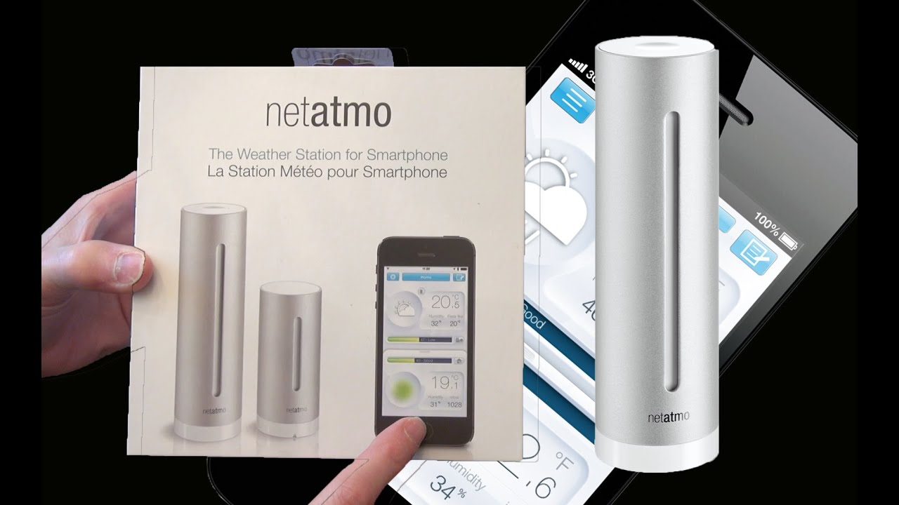 The Best Home Weather Station: Netatmo   Unboxing And Setup   YouTube