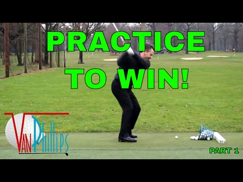 BEST EVER GOLF PRACTICE STRATEGY – PRACTICE TO WIN! video 1