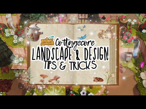 COTTAGECORE LANDSCAPE/DESIGN TIPS & TRICKS // ANIMAL ...