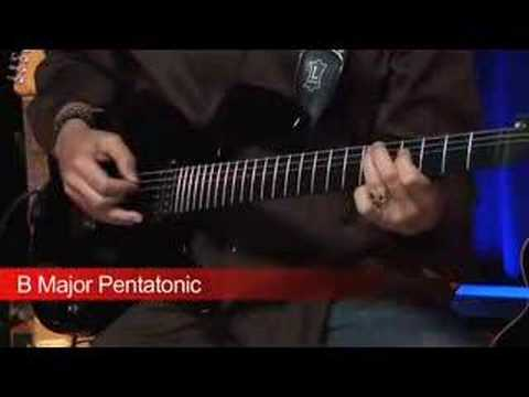 "Dean Brown - Guitar ""Pentatonic Scales"""