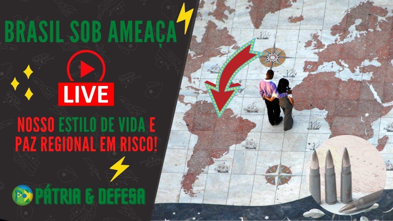 Live de Sábado - A Paz dos Brasileiros Sob Risco!