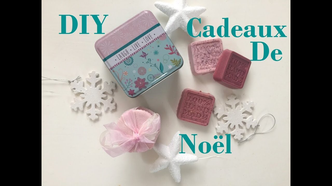 Diy id es cadeaux de no l faire soi m me youtube - Idee decoration noel a faire soi meme ...