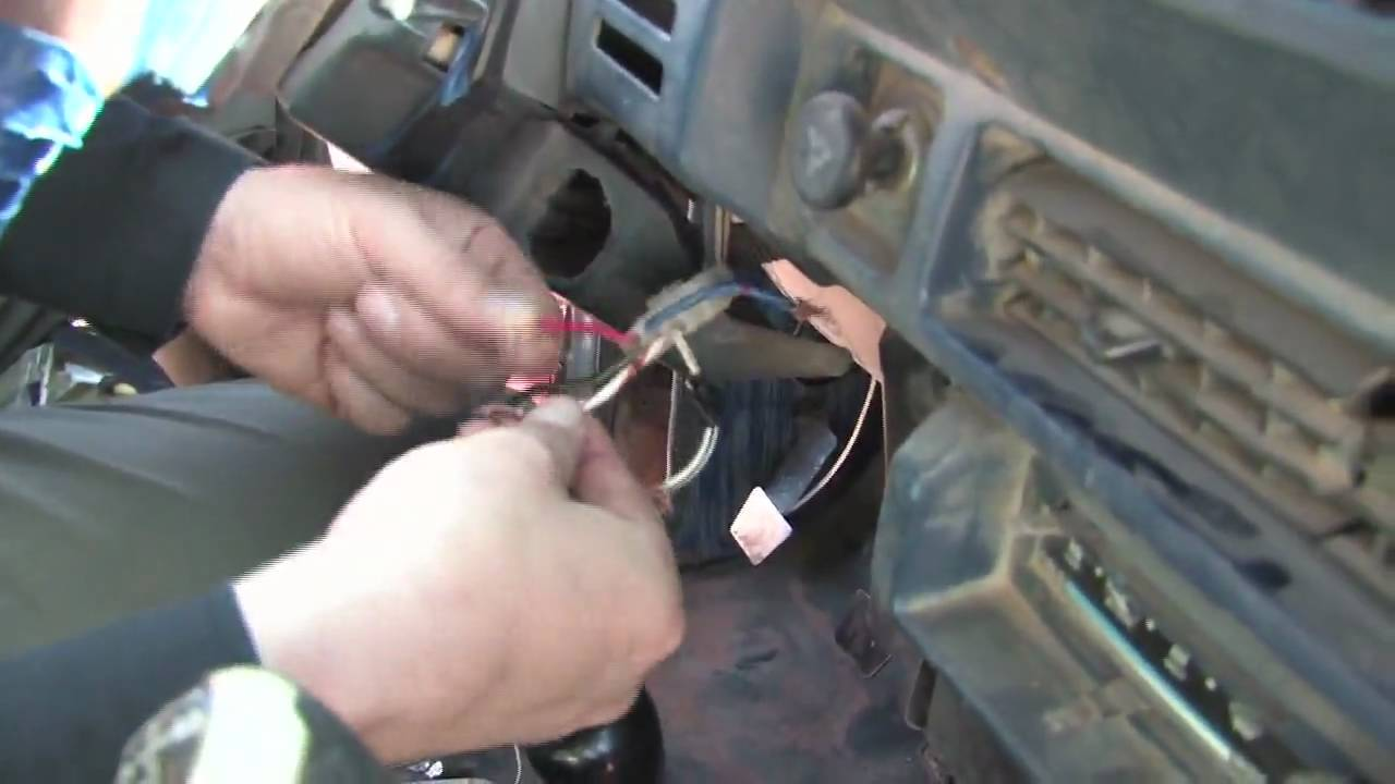 Start Stop Wiring Diagram Power Antenna How To Hotwire A Car - Youtube
