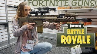 FORTNITE GUNS IN REAL LIFE!!! [Trip to Las Vegas]