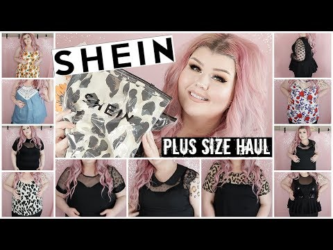 4673e0ba2823 Shein Plus Size Try On Haul | May2019 - YouTube