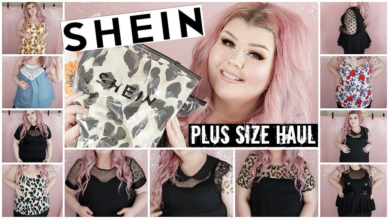 b509bd087e Shein Plus Size Try On Haul | May2019 - YouTube