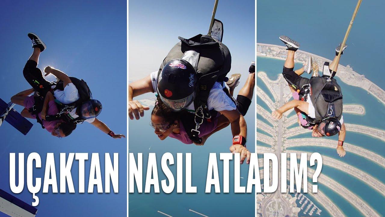 Hayatımda İlk Defa Uçaktan Atladım! | Dubai Günlükleri