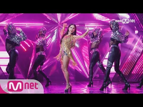 Uhm Jung Hwa  Watch me move Special Stage  M COUNTDOWN 170105 EP505