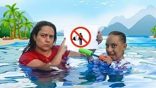 Regras de Conduta na PISCINA (Rules of Condut for Children) - MC Divertida