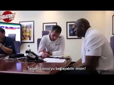 Magic Johnson, Draft Edilmeden Önce Lonzo Ball'u Arıyor