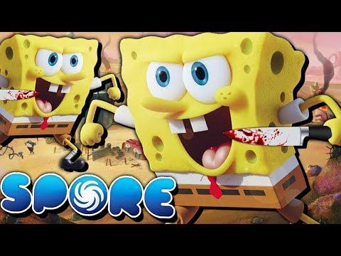KILL-BOB MURDER-PANTS?! | Spore: Planet Bikini Bottom (Episode 4 - KILLER SPONGEBOB!)