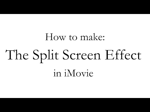 IMovie How-to: How To Make The Split Screen Effect