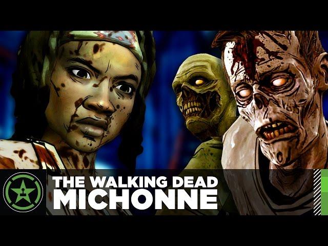 Let s watch the walking dead michonne part 1