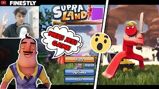 Hello Neighbour JESI FUNNY GAME 😂😂/ FUNNY ANDROID HINDI GAMEPLAY / Supraland GAME OF THE YEAR 2019