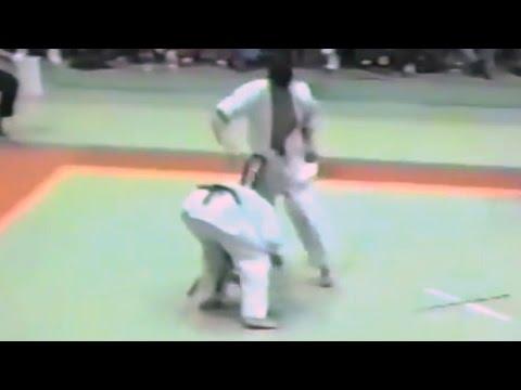 極真会館 1987年第1回京都大会(3/7)2回戦(kyokushin 1987 Kyoto) 滋賀空手