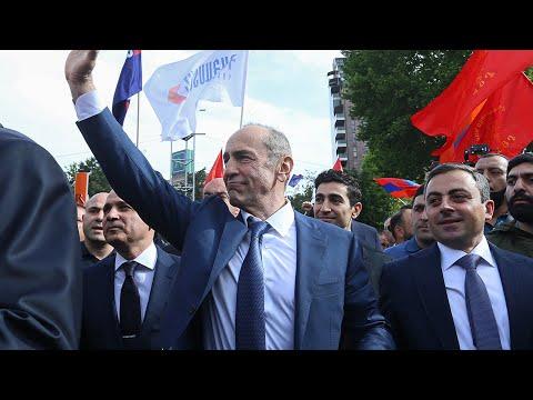 Кочарян в Гюмри. Досрочные выборы в Армении