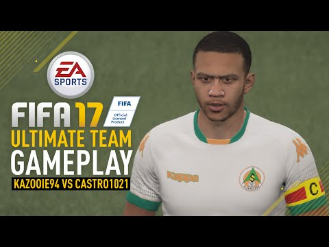 FIFA 17 ULTIMATE TEAM GAMEPLAY | vs Castro1021