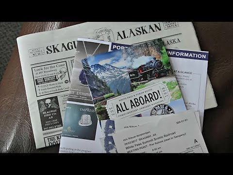 White Pass Yukon Route Railroad in Skagway, Alaska  ~ Cruise Vlog
