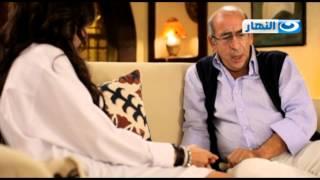 Qoloub Series   مسلسل قلوب - مشهد سارة ووالدها ورأية فى الصح و الغلط