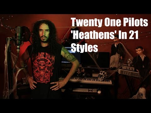 Twenty One Pilots - Heathens | Ten Second Songs 21 Style Cover