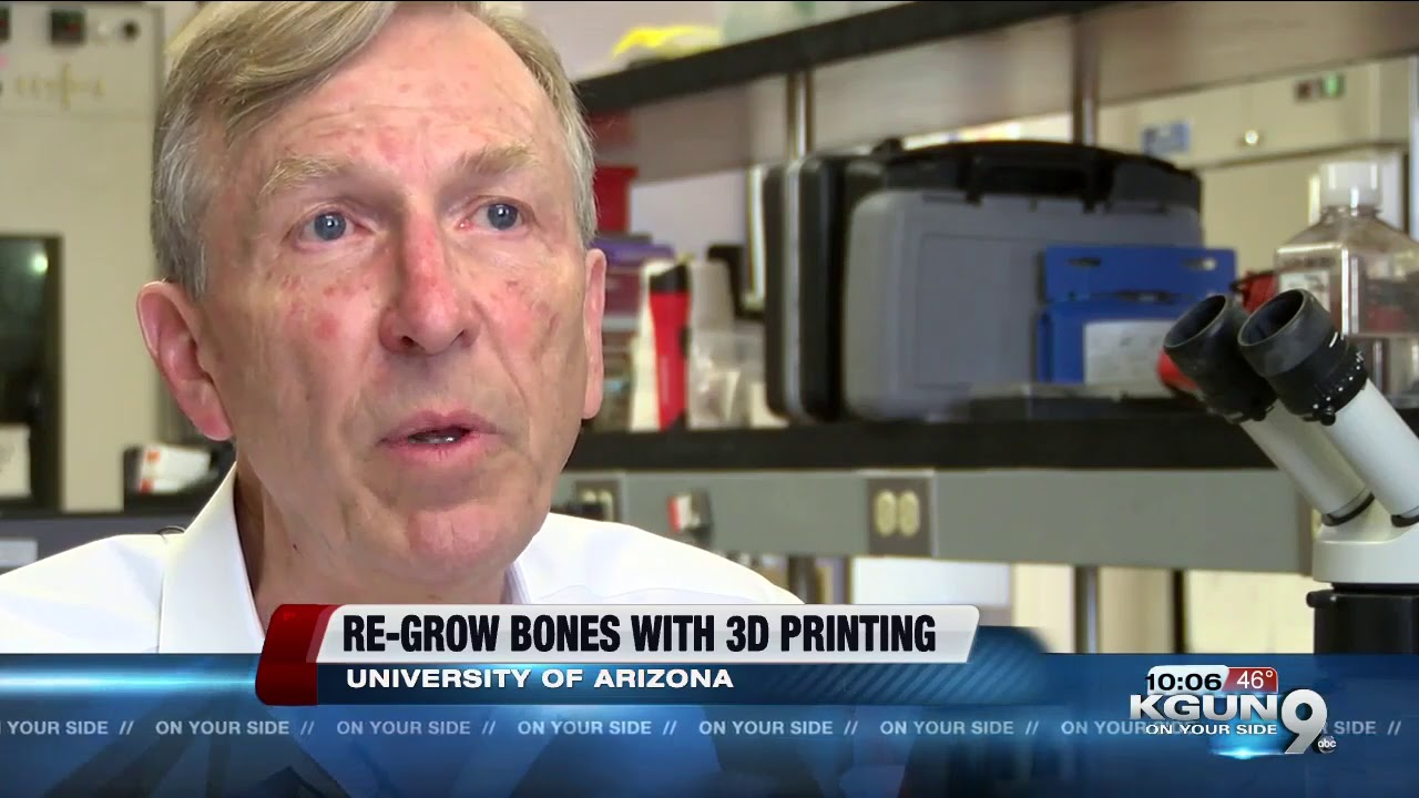 UA researchers re-growing bones with 3D printing, stem cells