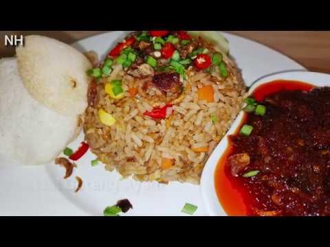 Resepi Nasi Goreng Ayam Mudah | Simple Chicken Fried Rice Recipe - YouTube