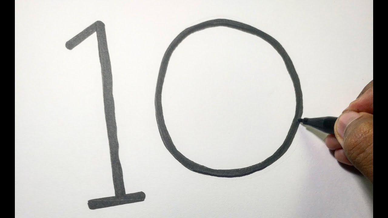 WOW Angka 10 Berubah Jadi Gambar MINION