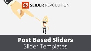 Slider Revolution 4.0 - Post based Slider