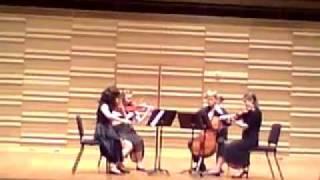 Bartok Quartet #6 II. Mesto, marcia