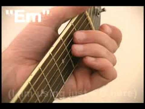 Freebird Chords for Beginner Guitar Players - Basic Guitar Lesson ...