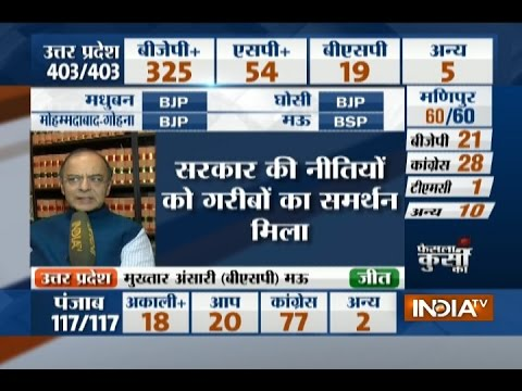 PM Modi got votes from the poor, an honest government has won; says Arun Jetly