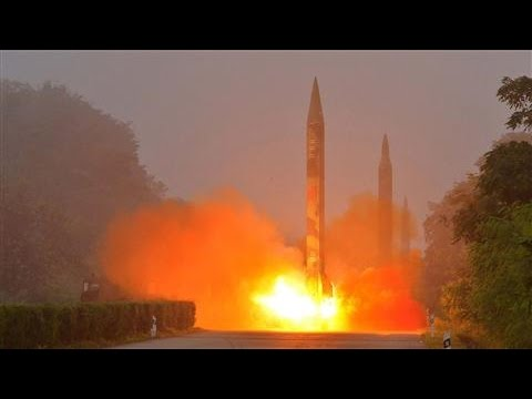 North Korean Missile Lands Near Japan