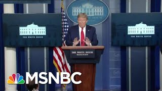 'Disinformation': See Trump Virus Briefing Get Cut Off On Live TV | The Beat With Ari Melber | MSNBC