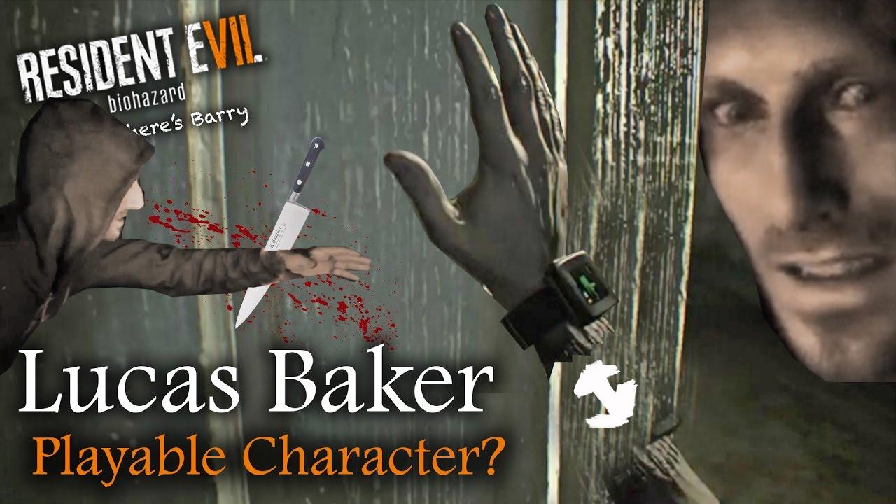 New Resident Evil Screenshot Unedited Jack Cuts Lucas Baker S